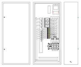 Вводно-распределительное устройство схема